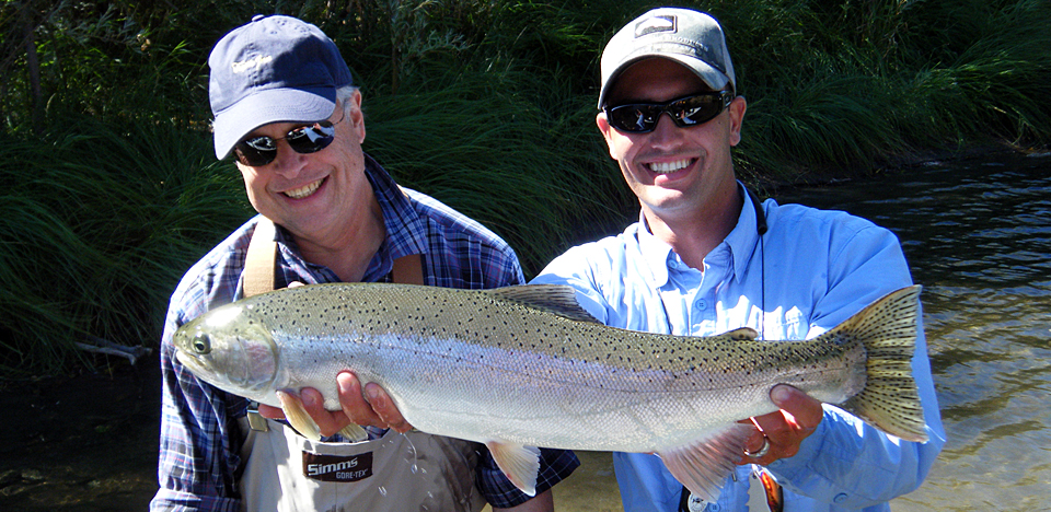 Fly fishing guide the ripple effect northern california for Trout fishing northern california